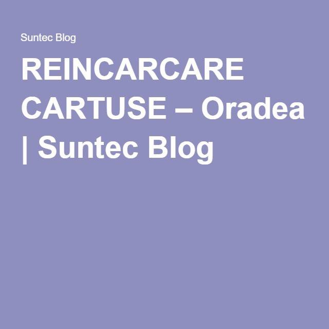 REINCARCARE CARTUSE – Oradea | Suntec Blog
