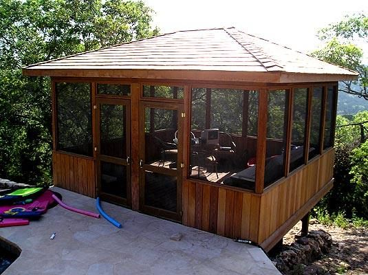 Diy outdoor screen room for Screen room plans