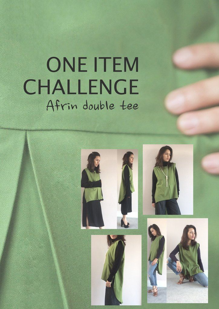 Modesty clothing blog - 'One item challenge' - Afrin double tee top