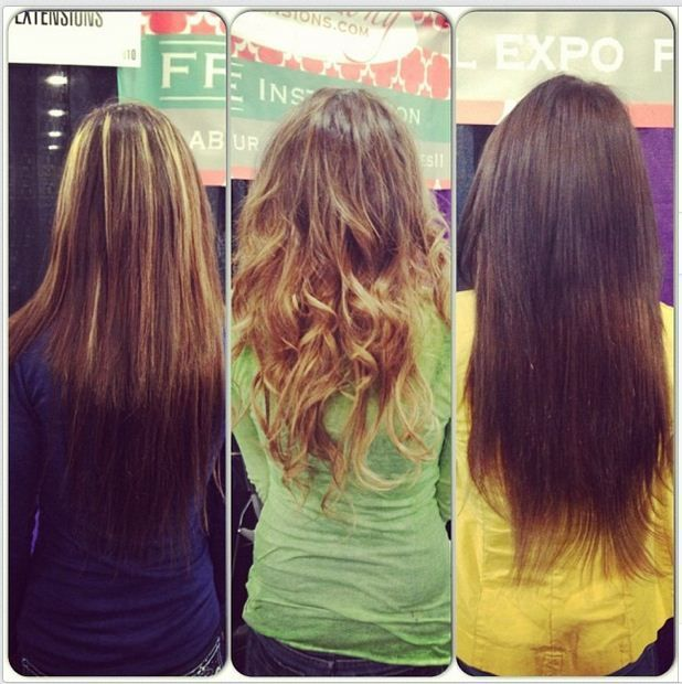 Best Clip in #Hairextensions, just think, spend several hours in the #beauty salon and you can have long hair that looks like a #dream.