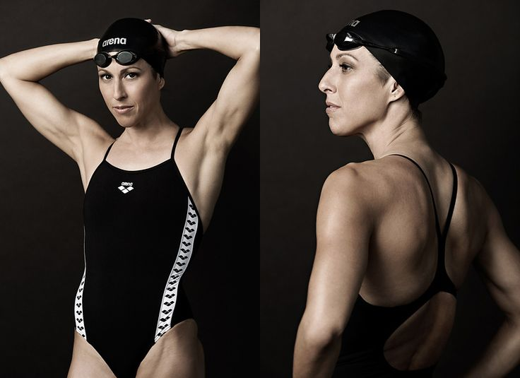 40 yr old swimmer & 5 time Olympic medalist Janet Evans makes a comeback @ London 2012 Olympic Games. Yes, 40-years-old.