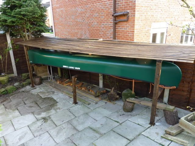 17 best images about kayaks on pinterest storage sheds for Canoe storage shed