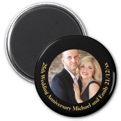 PHOTO Wedding Anniversary Magnet Gifts Under $5 - anniversary gifts ideas diy celebration cyo unique