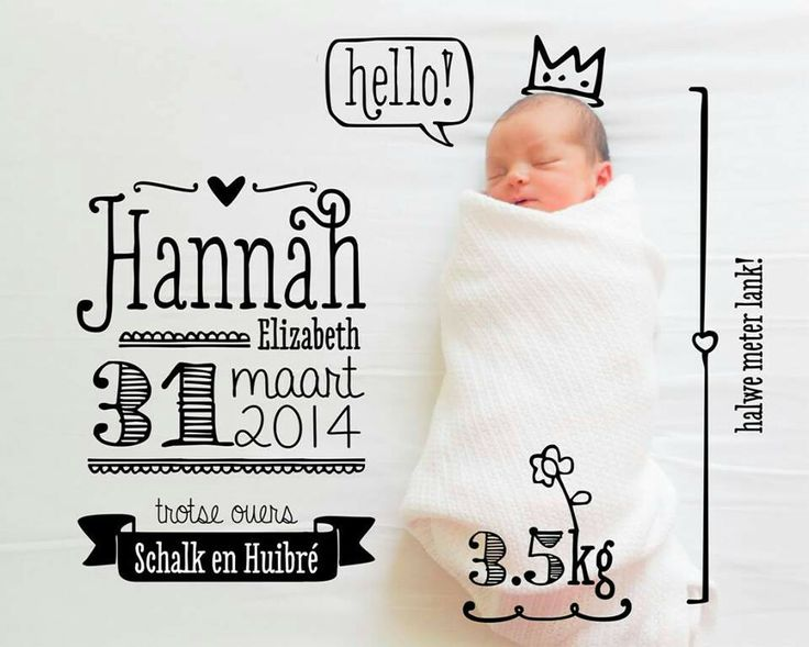 Baby announcements by Elsje Designs. Beautiful handwriting font. #elsjedesigns #digitaldesigns #babyannouncement #handwriting