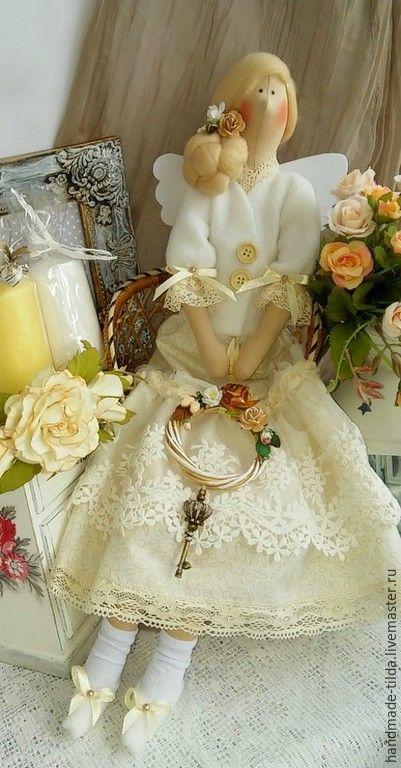 """Купить Домашняя фея """"Ваниль"""" - бежевый, ваниль, фея домашнего уюта, кукла ручной работы"""