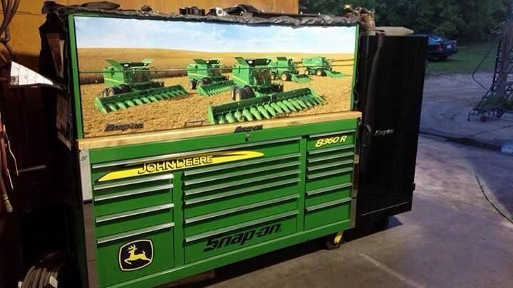 Might As Well Have A Matching John Deere Tool Box To Match