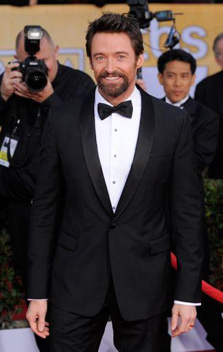 The Best Tuxedos of the SAG Awards 2013 - Hugh Jackman