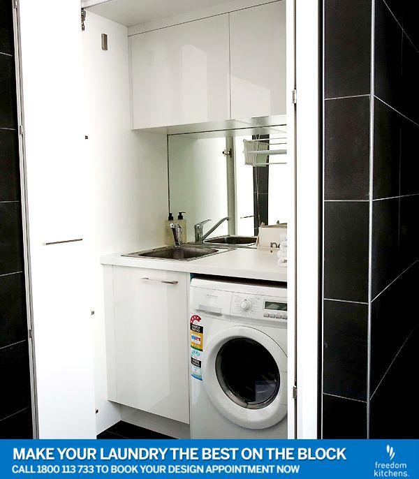 Combined bathroom laundry, combined laundry, European laundry