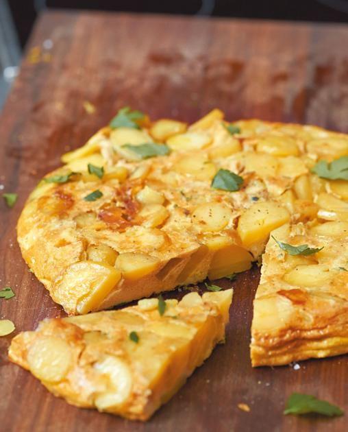 Tortilla mit Petersilie Rezept - [ESSEN UND TRINKEN]
