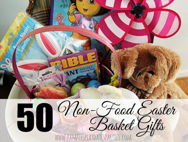68 best food allergy easter images on pinterest crafts for kids 50 non food easter basket gifts negle Images