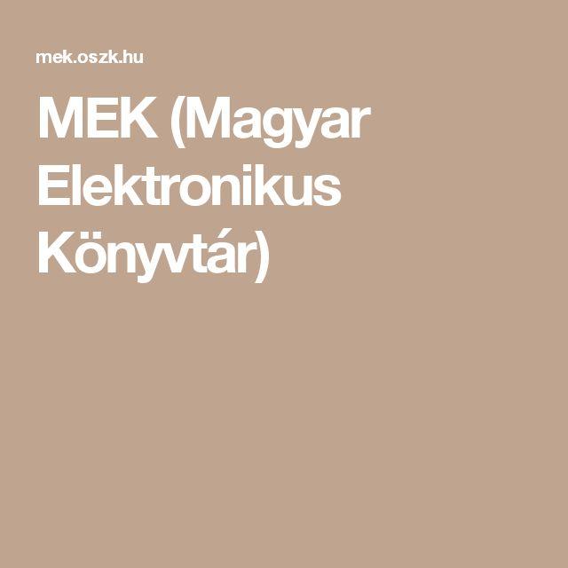 MEK (Magyar Elektronikus Könyvtár) Ha nem sikerült a regényhez nyomtatott formábban hozzájutnotok itt megtalálhatjátok elektronikus formában ;)