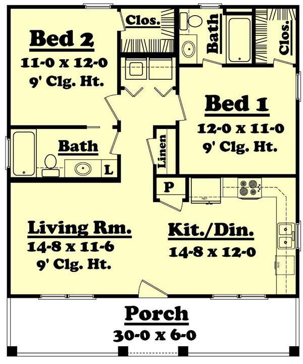 Magnificent 17 Best Ideas About Small House Plans On Pinterest Cabin Plans Largest Home Design Picture Inspirations Pitcheantrous