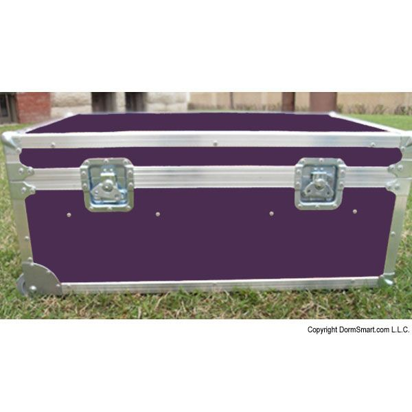 Safari Purple Large ATA College Footlocker with Recessed Wheels and Tray | FREE SHIPPING