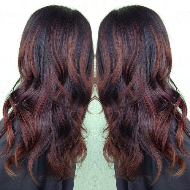 Best 25 brunette red highlights ideas on pinterest red brown i dont normally highlight but if i did i like pmusecretfo Gallery