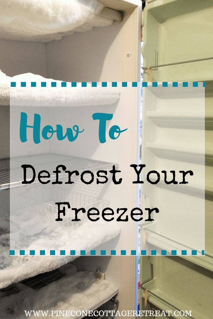 How To Defrost Your Freezer To Prepare For Harvest Season