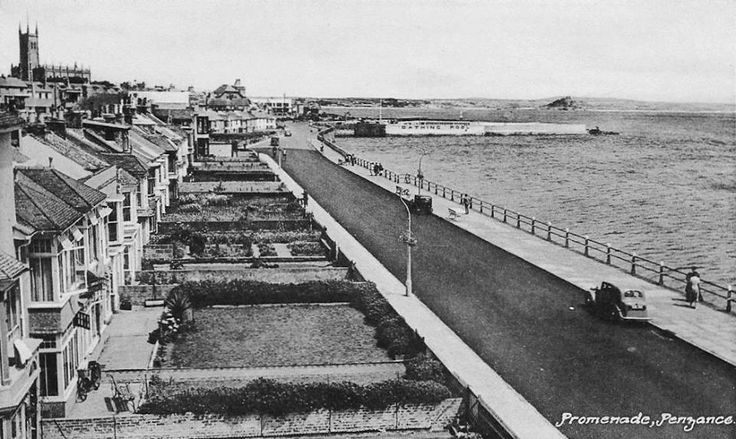 CAPTAINS' COTTAGES FRONTING THE PROMENADE | Penzance, Cornwall ✫ღ⊰n