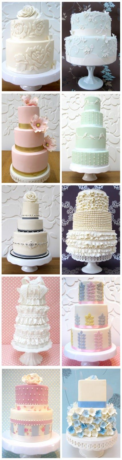 Always Andri Wedding Design Blog: Rosalind Miller Wedding Cakes