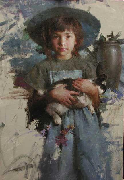 Morgan Weistling Christian Paintings | Morgan Weistling Bunny Demo