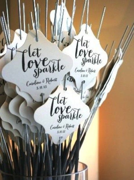 Keep guests cool with these pretty favours (bonus points for a funny sign).   See this pin on Pinterest