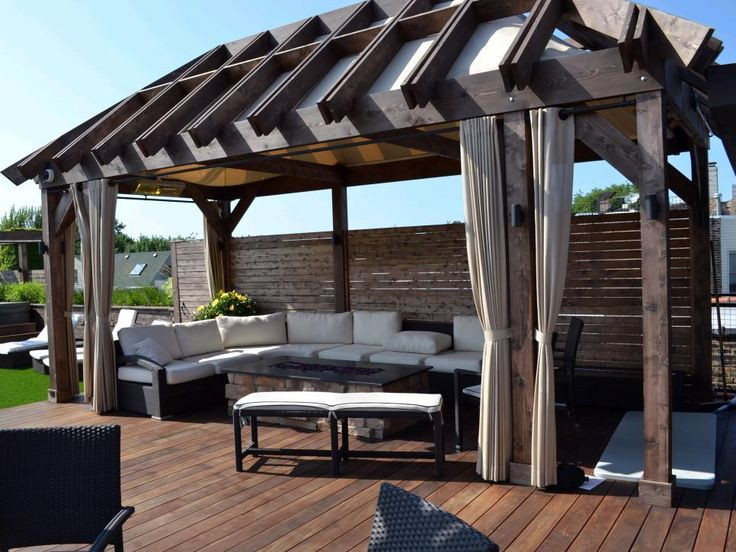 21 best roof patio images on pinterest | home, terrace and backyard - Shaded Patio Ideas
