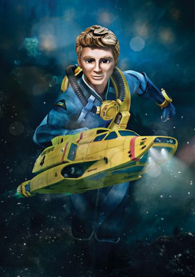 Some beautiful artwork for Thunderbirds Are Go! (2015)