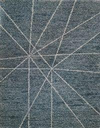 (Korea) Untitled 1974 by Kim Whanki (1913-1974).