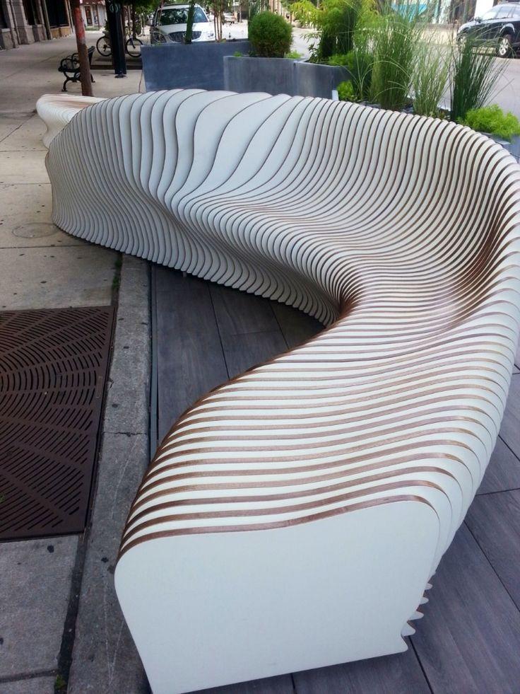 3d Wallpaper Artistic Interesting Outdoor Furniture Installation Down My Street