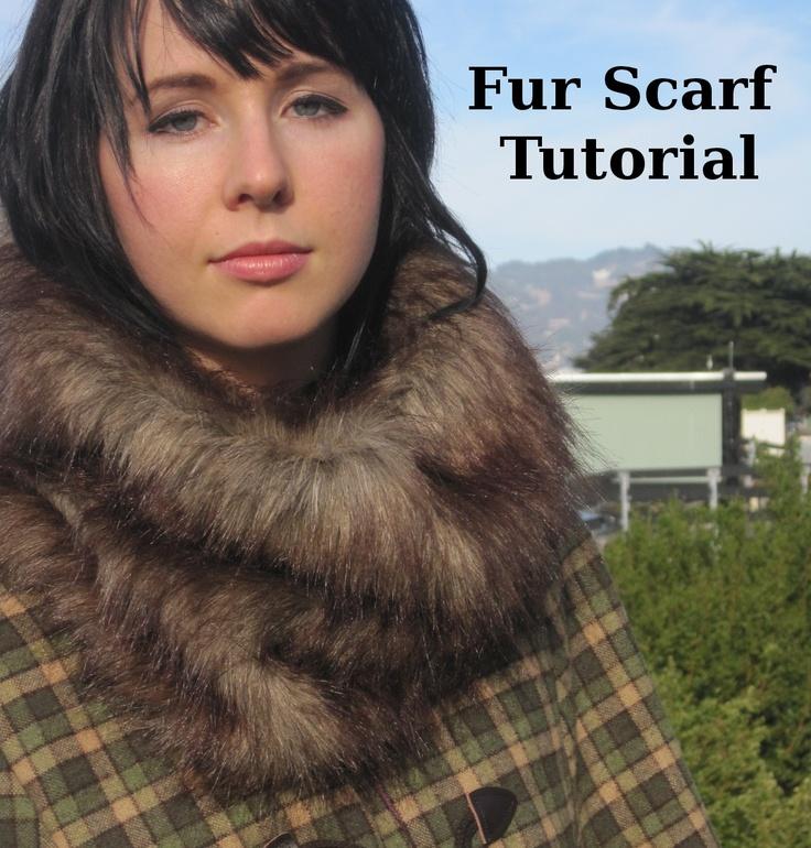 Fur Scarf Tutorial
