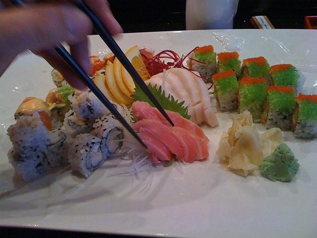 Mikado Sushi Orlando - Wasabi hot roll, spicy tuna roll ...