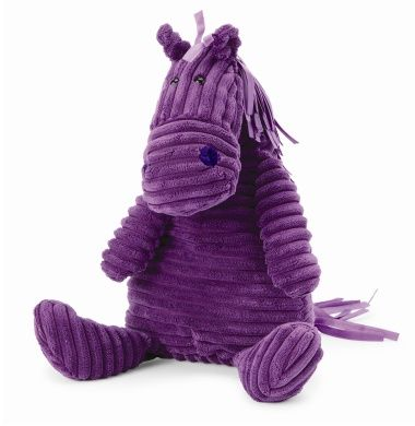 Jellycat Cordy Roy Purple Horse.  The mane and tail are purple ribbon.  LOVE.