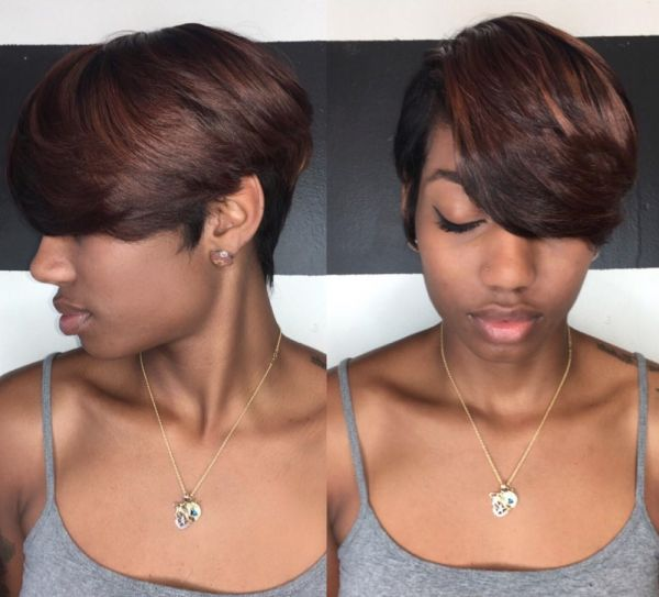 haircuts styles 25 best weave images on hair 4607