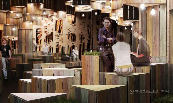 LandL Interior Design Showcase: Eco Designed Bar Space