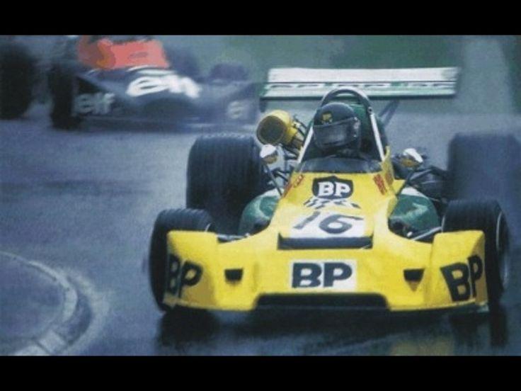 Jacques Laffitte - Martini Mk16 BMW - Écurie Elf Ambrozium sails to victory in a soaked XXXV Grand Prix Autombile de Pau 1975
