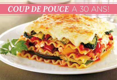 TOP 30 Recettes - No 29 > #Lasagne végétarienne du marché #CDP30