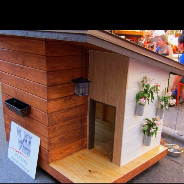 Dog houses for the rich?