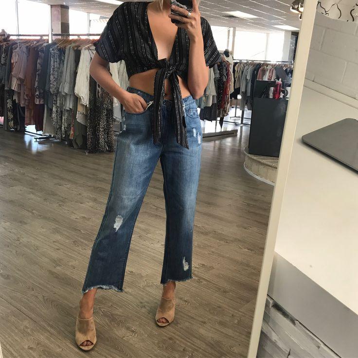 RES Denim - Res Bailet Straight Denim Jeans