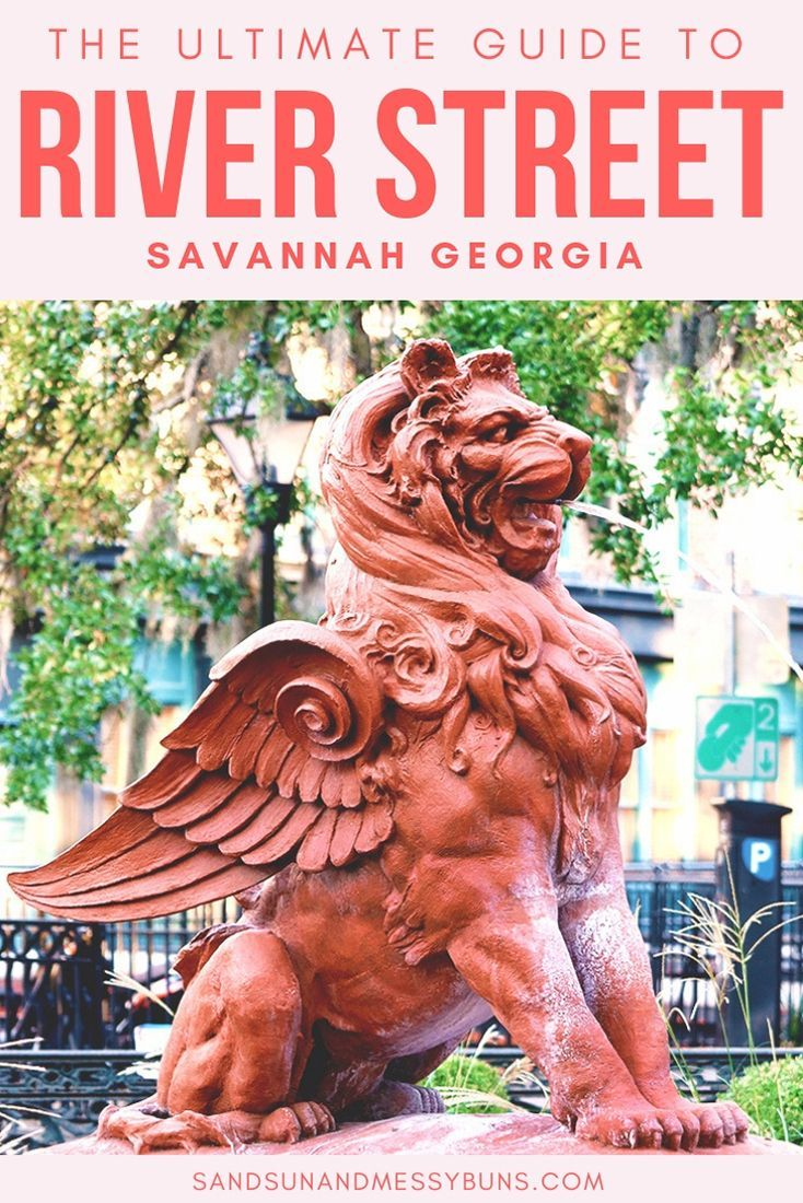 The Ultimate Guide to River Street in Savannah GA | Travel ...