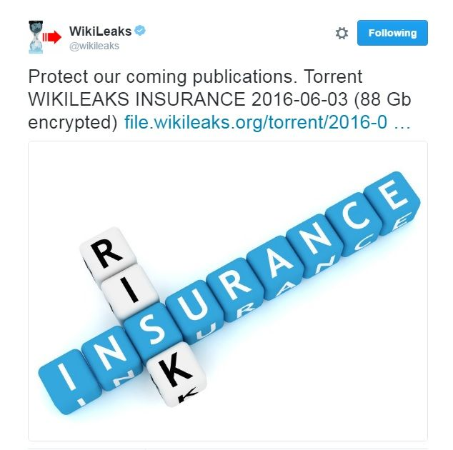 """All Hell Is About To Break Loose! Wikileaks """"Dead Mans Switch"""" May Have Been Activated Days After A Mysterious Warnings From Drudge"""