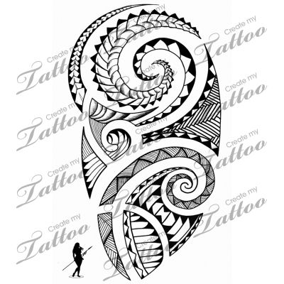 Marketplace Tattoo Polynesian Shoulder #5116 | CreateMyTattoo.com