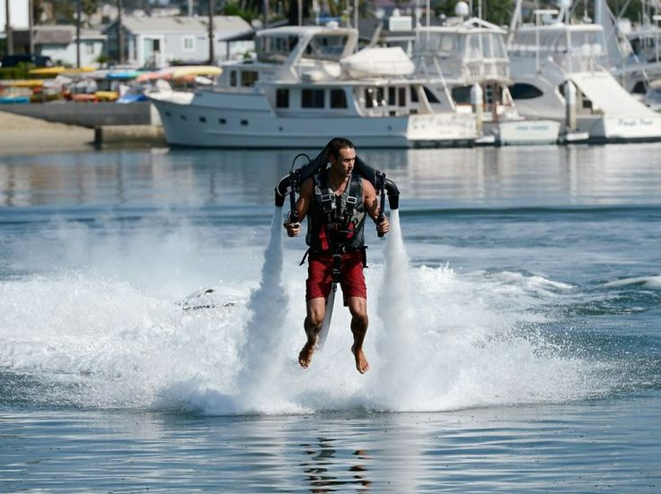 If you're learning to fly, there's a good chance it's with a Jetlev jetpack.