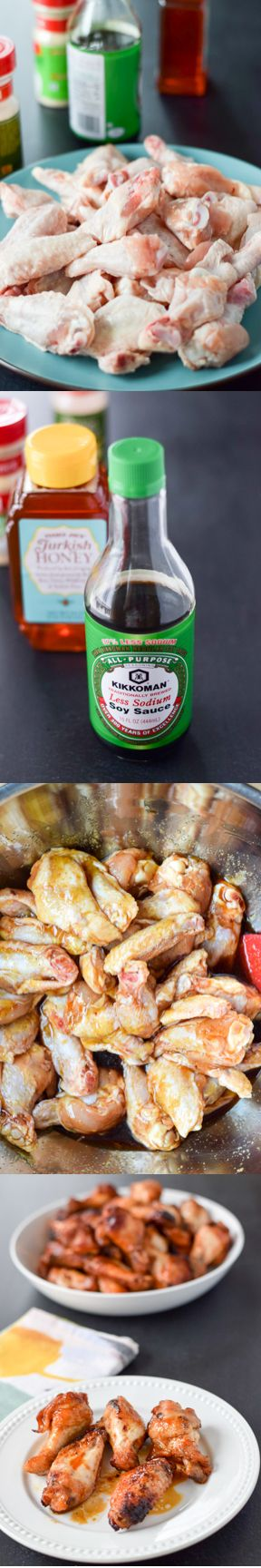 Hubby and I just LOVE, love, love these wings. They never disappoint and we're always in the mood. Start with good quality chicken wings! After that, it's a surefire recipe bound to please. And, as with most wing recipes, it scales beautifully. Bring on the hungry hordes! http://ddel.co/bkdwngs