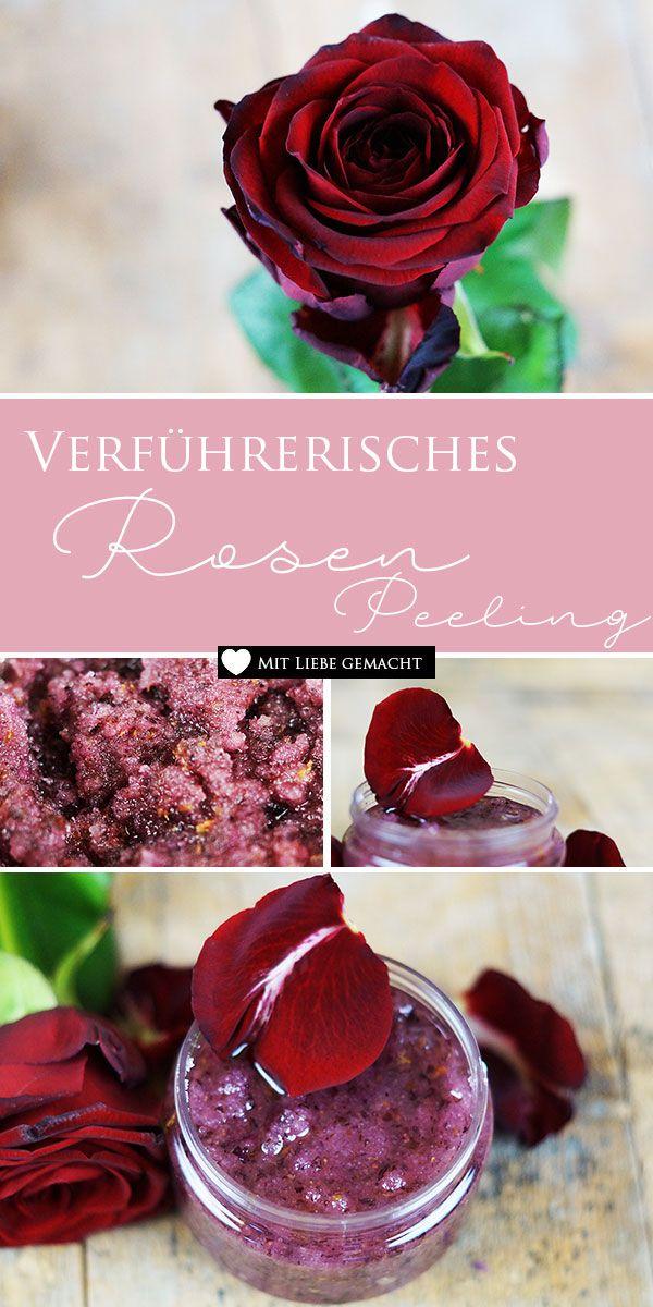 Sinnliches Rosenpeeling & Massageöl – perfekt für den Valentinstag