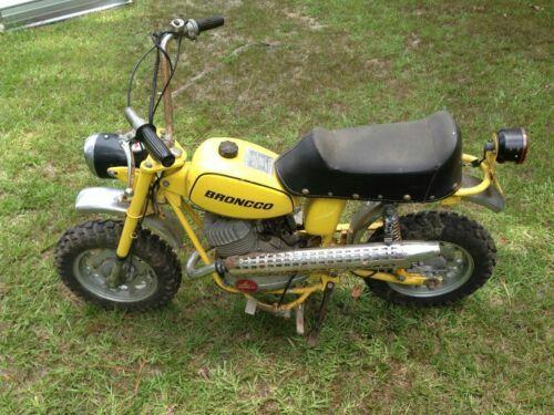 1971 GARELLI BRONCO MINIBIKE | Hooked on Minibikes | Pinterest | Minibike and Broncos
