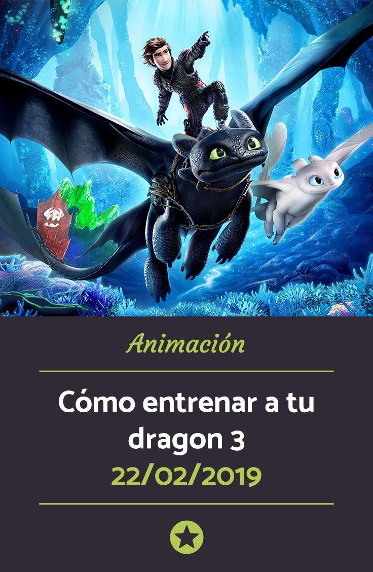 Cómo Entrenar A Tu Dragon 3 Cómo Entrenar A Tu Dragón Como Entrenar Películas De Animación