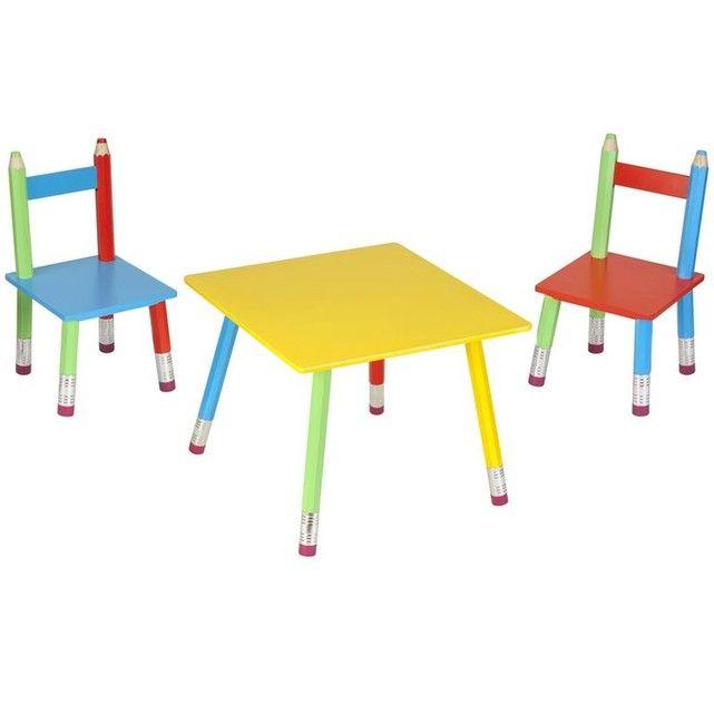 Epingle Par Beatrice Vie Sur Chambre Enfant Table Bebe Chaise En Bois Enfant Table Et Chaise Bebe