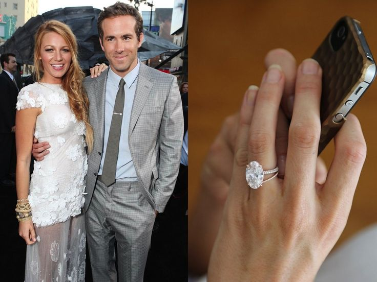 blake lively engagement ring oval - the only ring to take my breath away