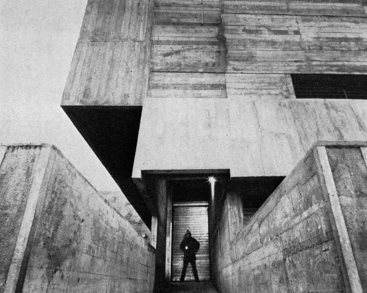 Mammouth Supermarket, Epernay, France, 1970  (Claude Parent)