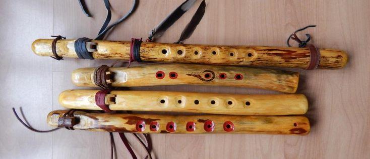 Oficjalnie pierwsza seria lakierowanych fletów z gałęzi.