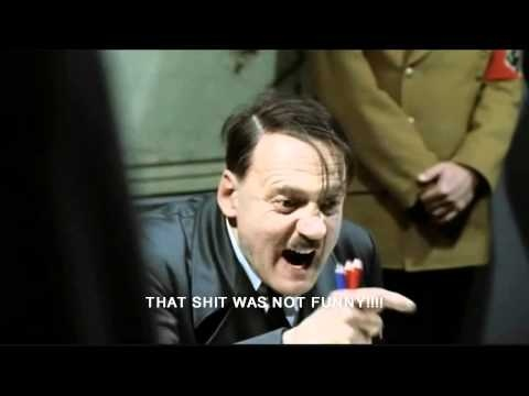 Hitler plays the Scary Maze Game