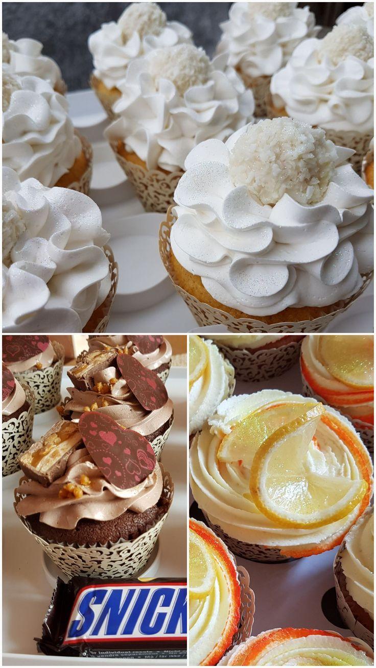 Raffaello-Cupcakes Snickers-Cupcakes Zitronen-Cupcakes Rezepte auf der Facebook Seite http://m.me/mutti.katze